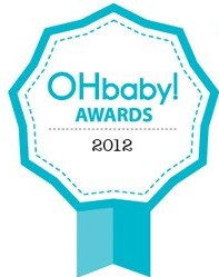 OHbaby! awards 2012 badge