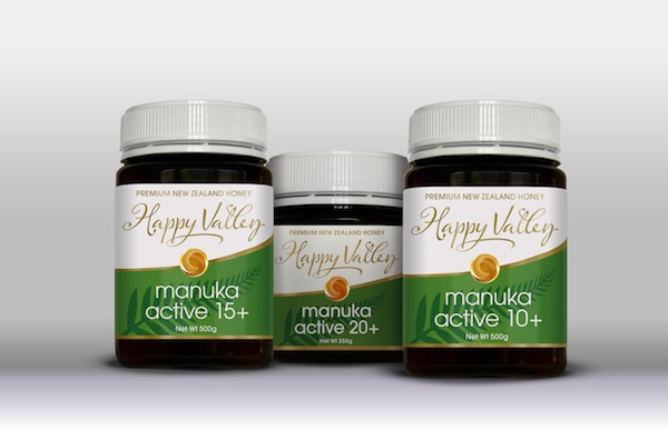 Happy Valley Honey Manuka Active Range
