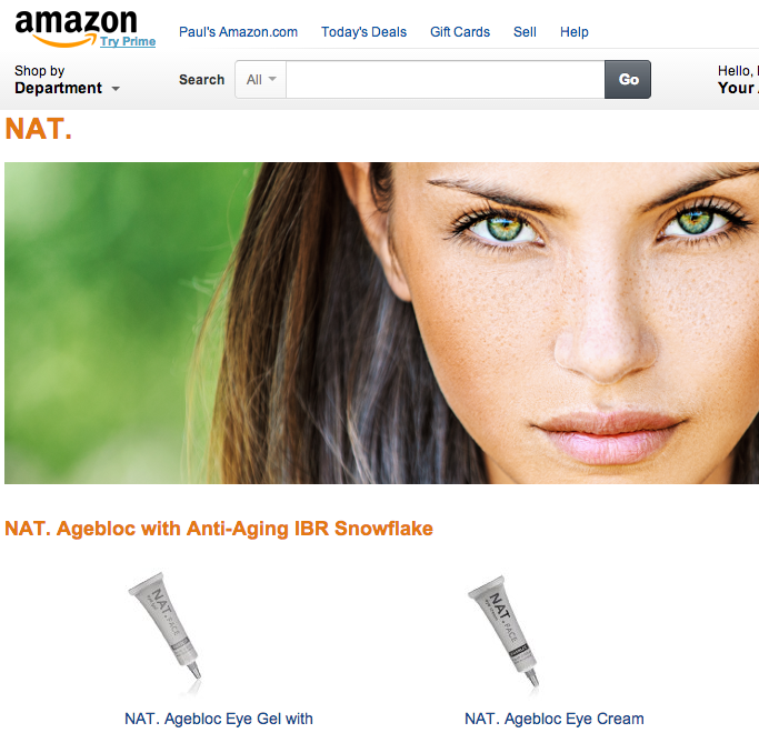NAT. Skincare Amazon Brand Store