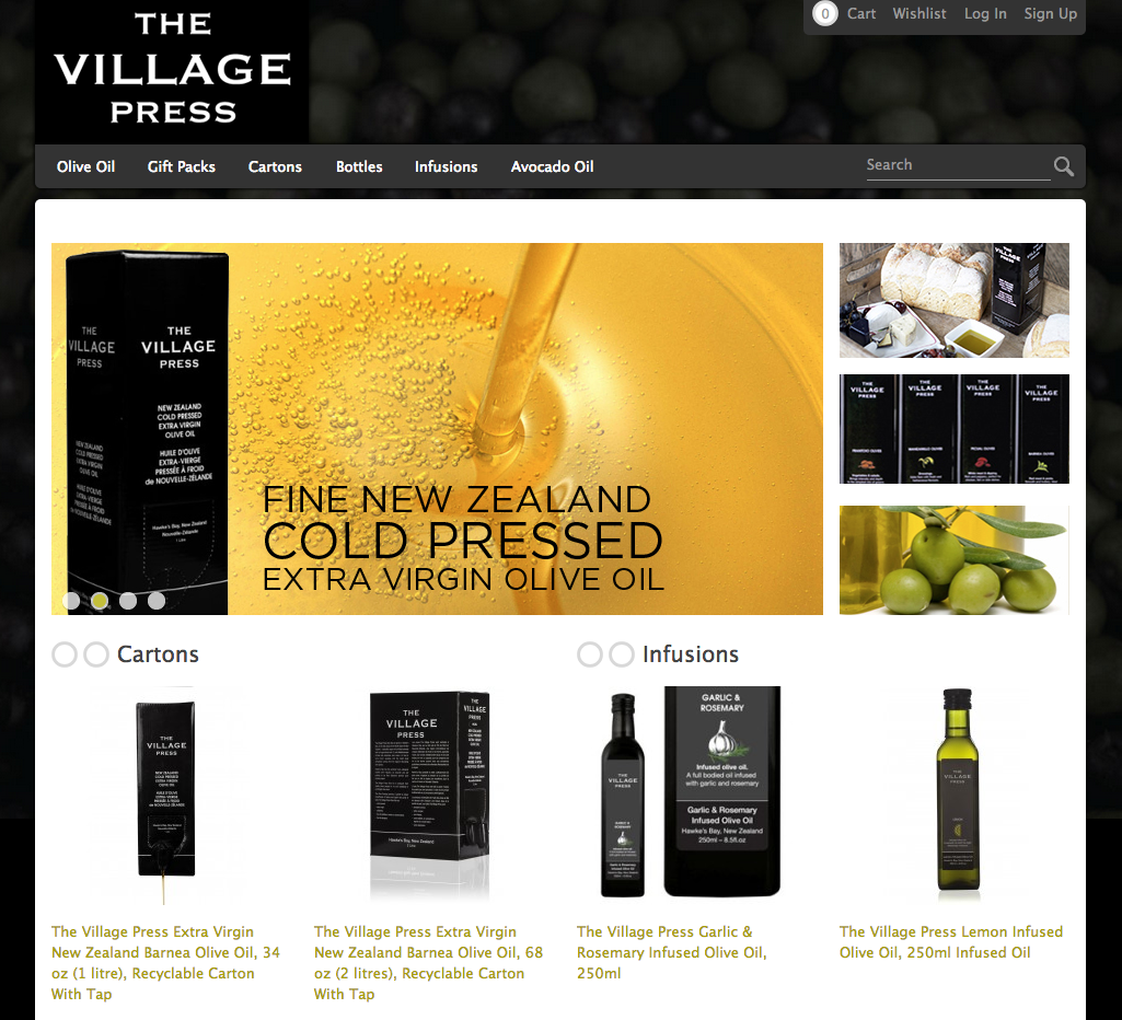 The Village Press Canada webstore
