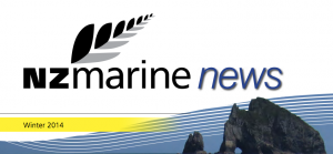 NZ Marine News magazine cover