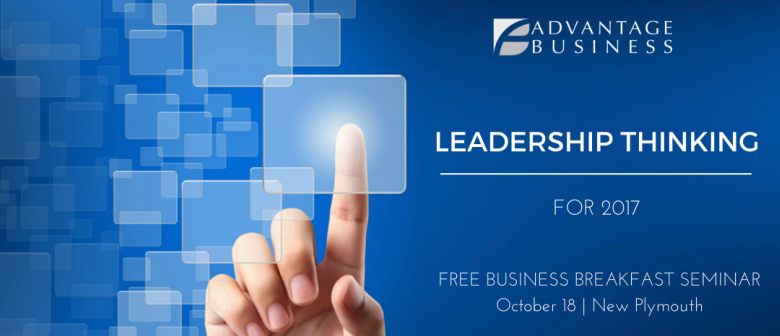 Advantage Business Leadership Thinking seminar