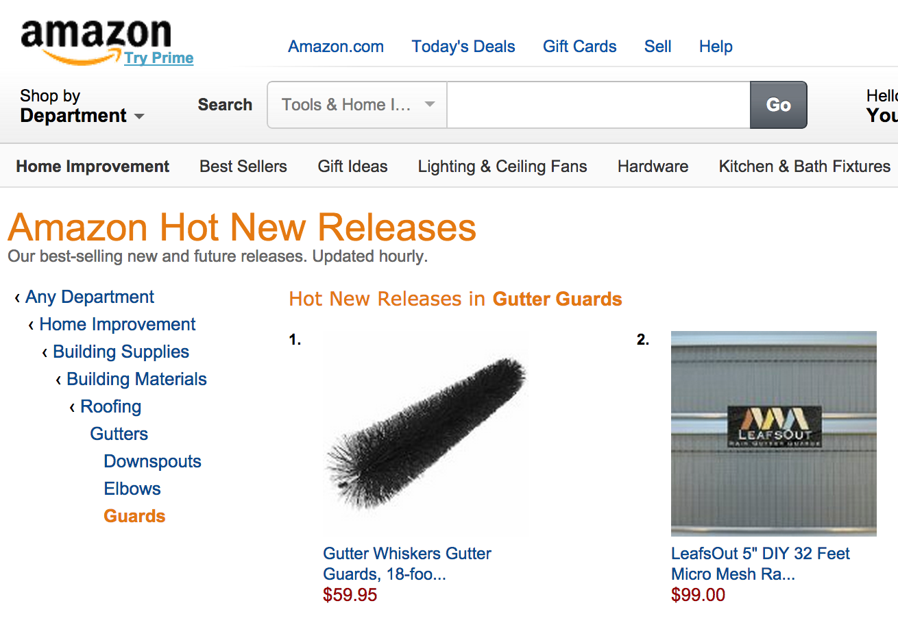 Gutter Whiskers 1 Hot New Release In The Usa Exportx