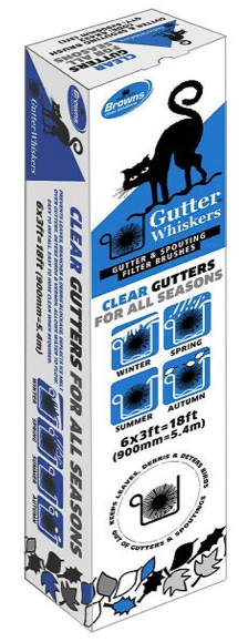 Gutter Whiskers 18ft Pack
