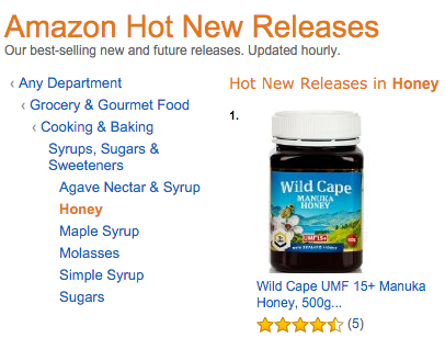 Wild Cape #1 New Release Honey