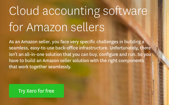 Xero cloud accounting software for Amazon sellers