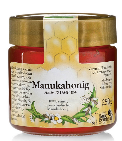 Sanct Bernhard manuka honey 2015 false UMF label